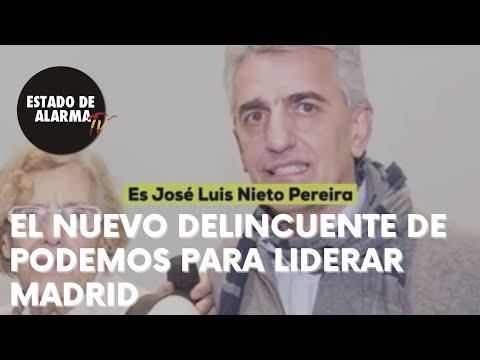 EL nuevo DELINCUENTE de Podemos para LIDERAR MADRID