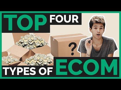 The 4 Popular Online E-Commerce Biz Models Explained (DropShipping, FBA, PoD, Private/White Label) thumbnail