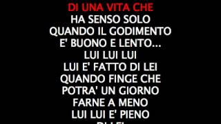 BIAGIO ANTONACCI - PAZZO DI LEI - Karaoke mp3  cori