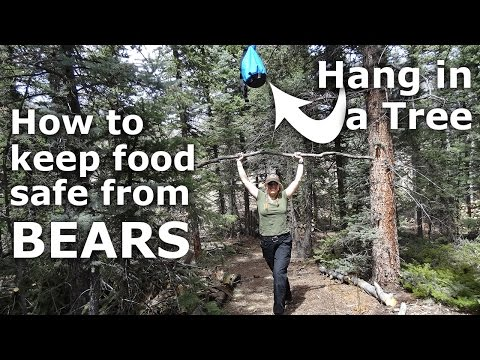 Store Food in a Tree away From Bears - How To - In Colorado - Our Journey :: Episode #39