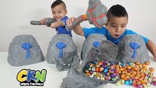 Easter Chocolate Eggs Smashing Game With CKN