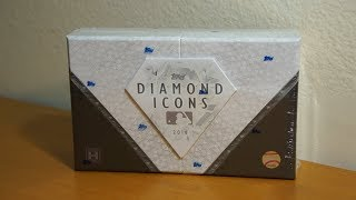 2018 Topps Diamond Icons: 1 box break! REDEMPTIONS GALORE!