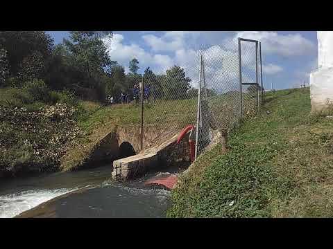 Projet ERHYGE - Ambatolaona - Hydrolienne en rotation