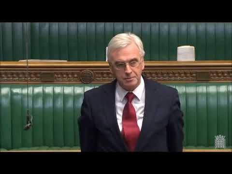 John McDonnell point of order Esther McVey 25/03/2015