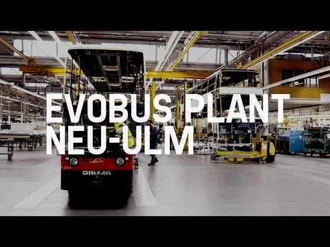 Setra - Mercedes-Benz buses (Production) - EvoBus Plant Neu-Ulm
