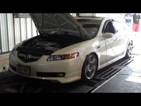 08 Acura TL-S 6MT - RV6 True Dual Exhaust + HFPC + V3 J ...