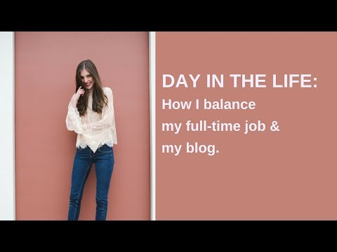 Day in the Life: Blogging with a Full-time Job