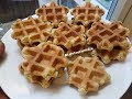 How to Make WAFFLES/ GALETTE CONGOLAISE の動画、YouTube動画。