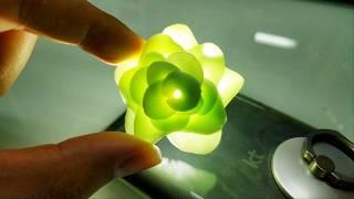 입체 꽃 냉장고 자석 만들기 폴리머클레이 강좌 / Polymer clay tutorial to create stereoscopic flower magnets