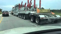 Down East NC. Trucking ~ Over Size Load