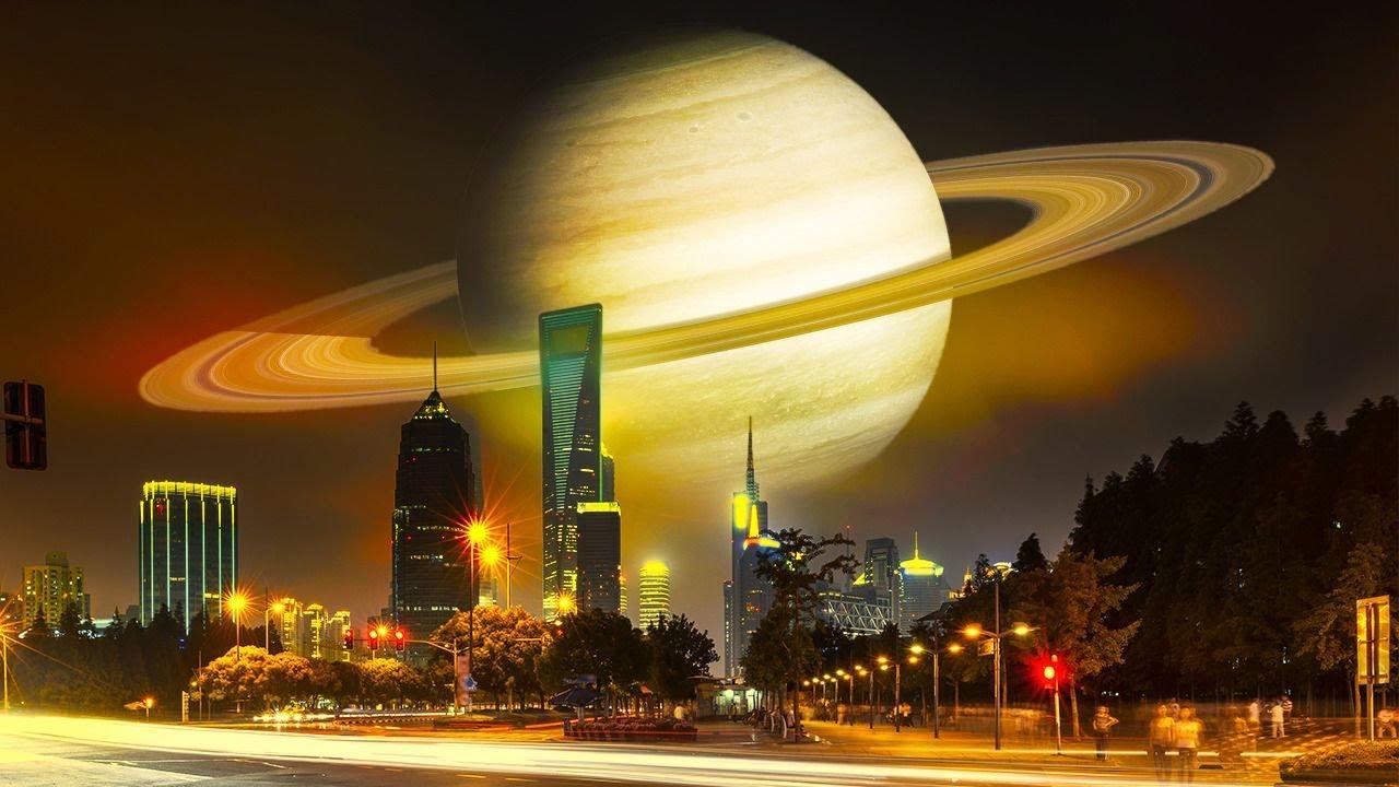 زحل سيدنو من الأرض و١٠ أحداث فلكية مدهشة نتوقع حدوثها