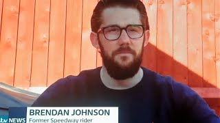 Meridian TV Report With Brendan Johnson : Isle of Wight : 24/03/2021