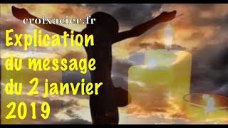 EXPLICATION DU 1ER MESSAGE DE 2019 ... CES PERSONNES QUI SOUFFRENT EN SILENCE ... JESUS-MARIE-OEUVRE