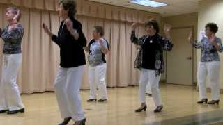 Line Dance Basic Beginner at the Concord Senior Center in Concord, California