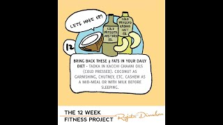 The fitness project 2018 - Week 12 guideline - Bring back the fats