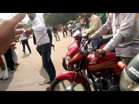 Allahabad university law faculty's protest against JNU row part 1