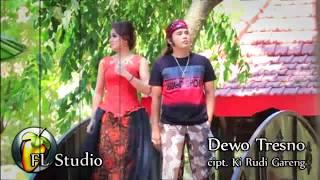 Dewo Tresno [ No Vocal + Lirik ] cipt. Ki Rudi Gareng ~ FL Studio