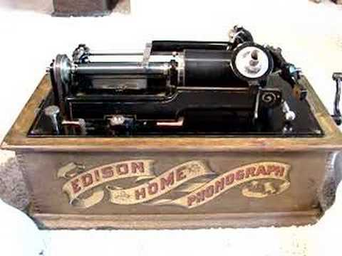 Edison home phonograph model h reproducer 1898 youtube for Edison home show