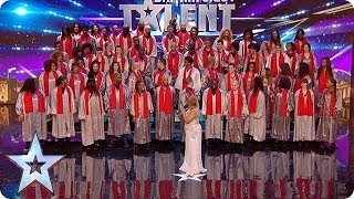 Is this the MOST amount of people we've ever had on stage?! | Britain's Got Talent