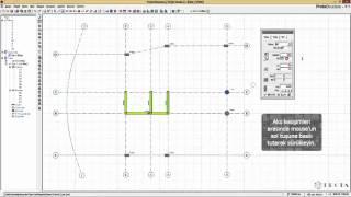 ProtaStructure ile Modelleme - Kolonların Tanımlanması