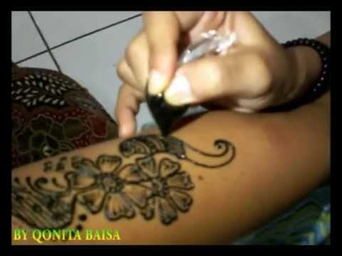 Tattoo Mehndi Tangan : The art of henna with qonita arabic mehndi design tangan f v