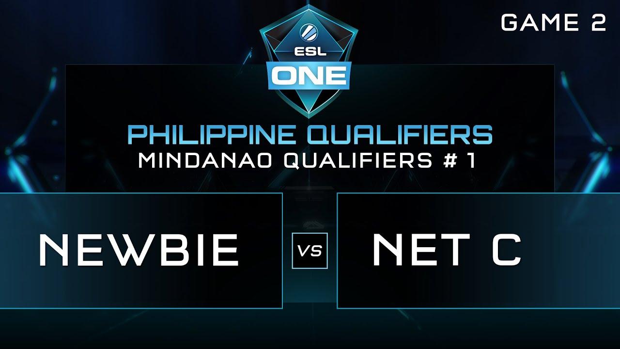 esl one manila mindanao qualifiers newbie vs net c game 2