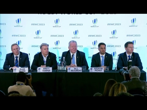 Download Youtube: We're LIVE for the Rugby World Cup 2023 host selection announcement #RWC2023