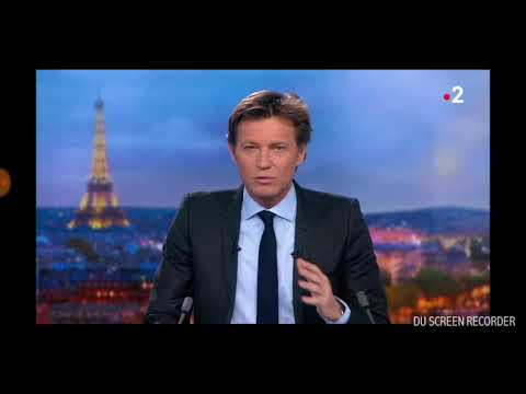 Journal France 2 - 30 mars 3018 / Reportage Mauritanie