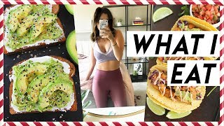 WHAT I EAT IN A DAY TO LOSE WEIGHT | Vlogmas Day #3