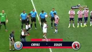 Los goles del: Chivas vs Tijuana (2 - 0)