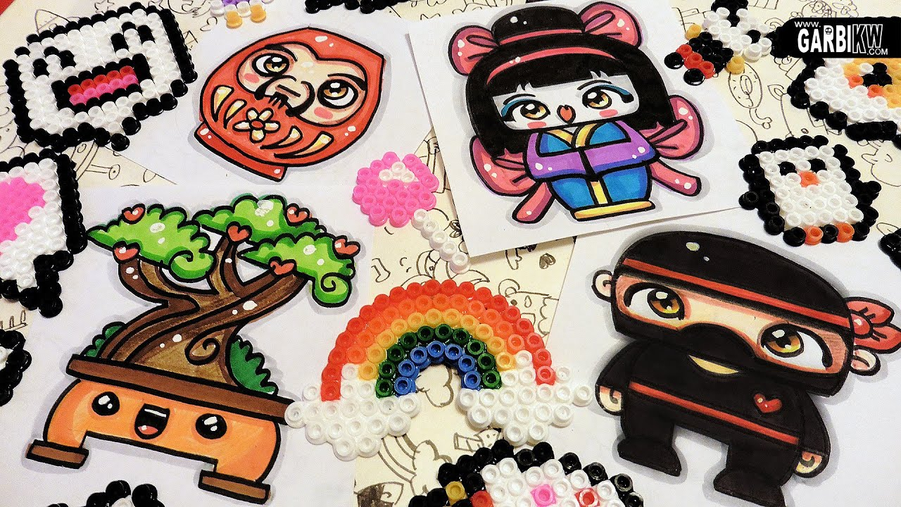 how to draw a cute japan - easy and kawaii drawings by garbi kw