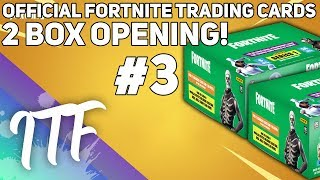 Unboxing 2 Boîtes de Fortnite Série 1 Trading Cards #3! (Fortnite Battle Royale)