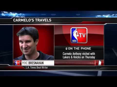 Carmelo Anthony's Laker Visit | July 03, 2014 | NBA Free Agency