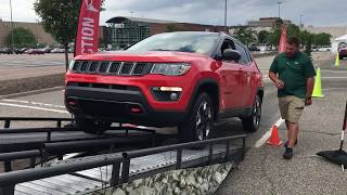 Get an Inside Look at the 2017 Jeep Compass Trailhawk in Action!