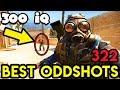 DON'T LOOK BACK... *300 IQ* - CS:GO BEST ODDSHOTS #322