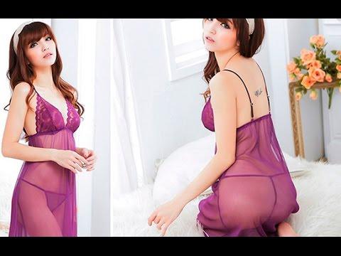 Đầm Ngủ Zic Siêu Mỏng Phối Ren