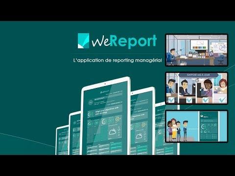 Découvrez WeReport : L'application de reporting managérial