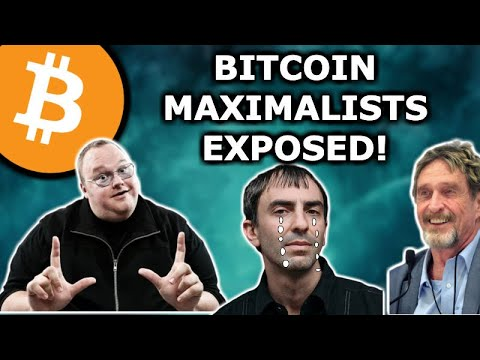 BITCOIN MAXIMALISTS GET EXPOSED BY KIM DOTCOM & JOHN MCAFEE - Tone Vays Wants To Cry