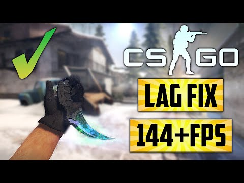 ✔CSGO Low End PC   Lag U0026 Stutter Fix   ▶144+FPS  On Intel HD   Ultimate CSGO FPS Boost Guide -2021