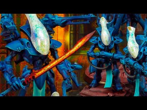 Speed painting Eldar Craftworlds - easy, effective, NO airbrush needed!
