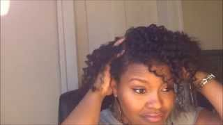 Flat Twist Out | Camille Rose Naturals Curl Maker + Almond Jai Twist Butter