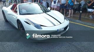 Supercars em Puerto Banus - 458 italia, Aventador, roll royce and More