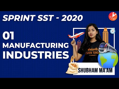 manufacturing-industries-|-cbse-class-10-geography-|-sst-chapter-6-agro-mineral-automobile-it-|ncert