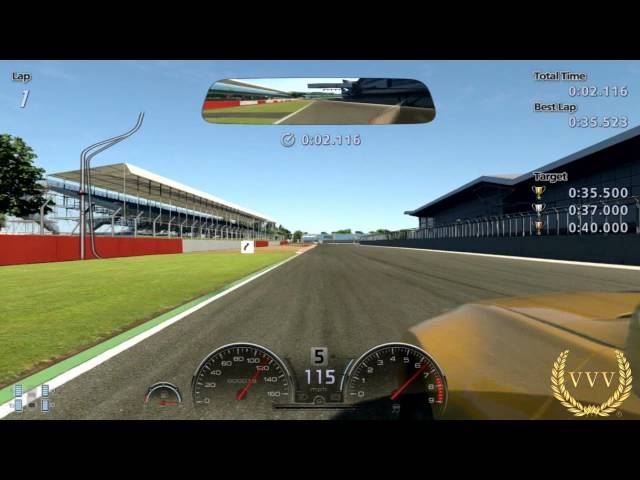 GT Academy 2013 Events 1 - 11 Bumper Cam