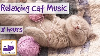 Extra Long Video of Sleep Music for Cats! Help Your Cat Sleep With 8 Hours of Relaxing Mus ...