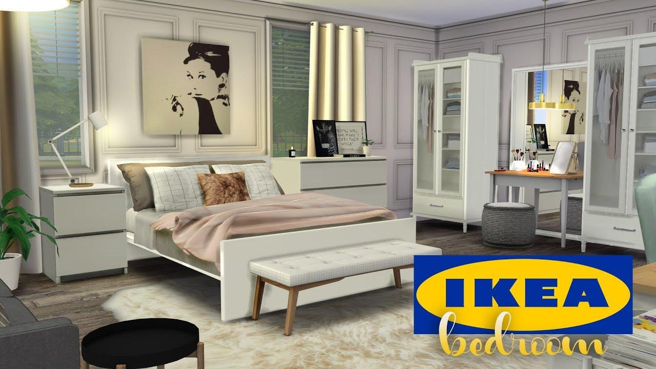 Ikea Bedroom Cc The Sims 4 Speed Room Build Youtube