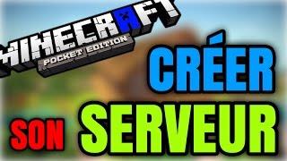 TUTO#7 - Comment créer un serveur Minecraft PE !