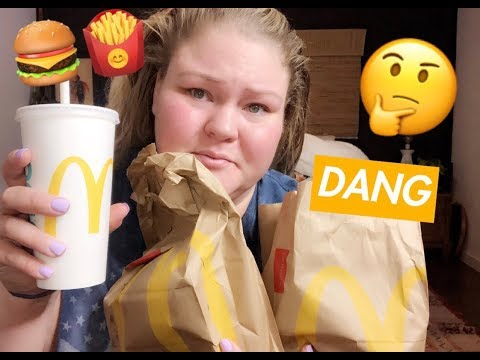 McDonalds MUKBANG!!! (1st Time Trying McRib + Video Chatting With Followers!)