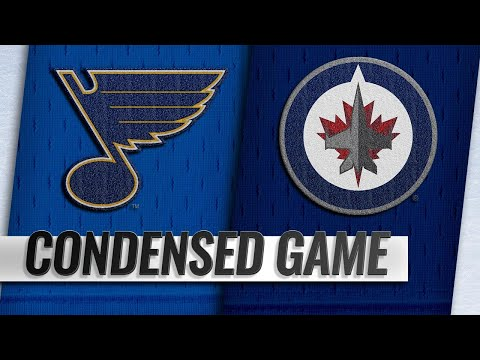 10/22/18 Condensed Game: Blues @ Jets