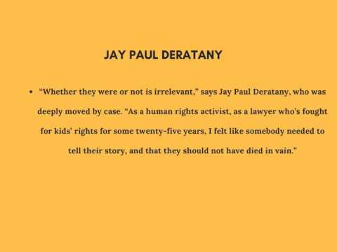 Jay Paul Deratany Best Theatrical Play